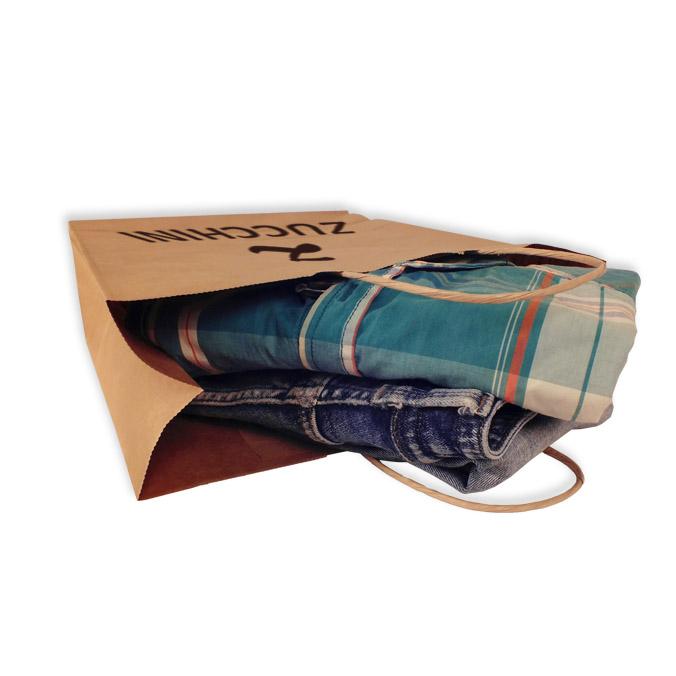 Bolsas de Papel Personalizadas 32+13x41cm