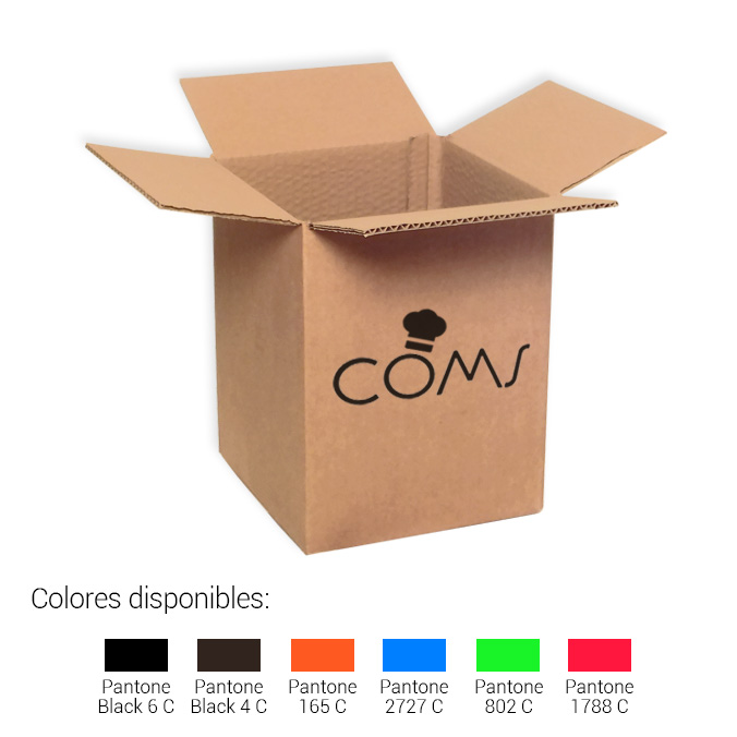 Cajas de cartón 200x200x260mm