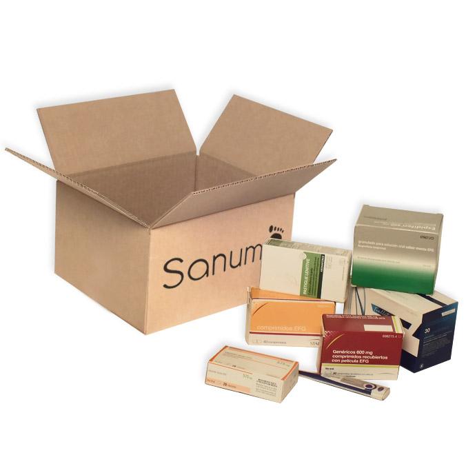 Caja de Embalaje 260x220x147mm