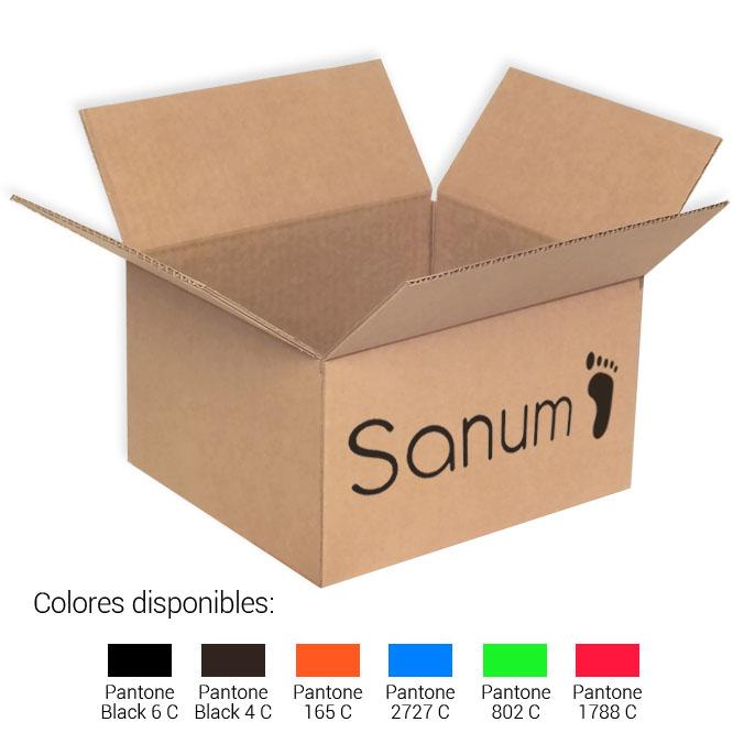Cajas de cartón 260x220x147mm