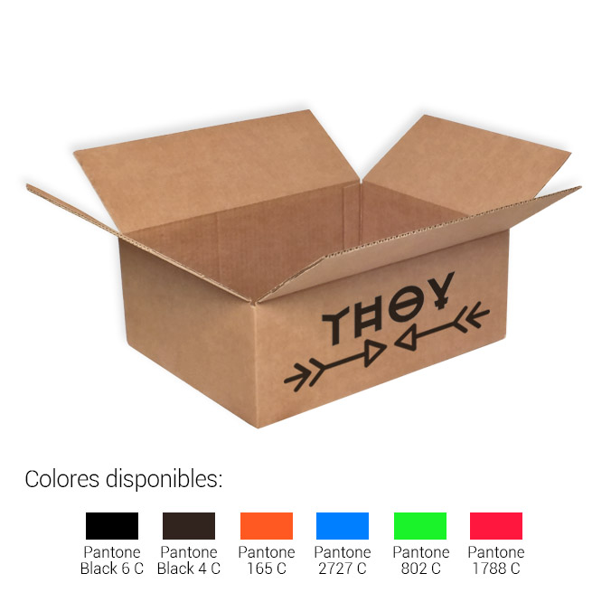 Cajas de cartón 400x300x150mm
