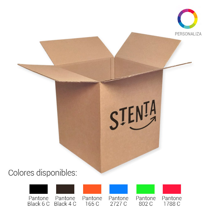 Caja de carton canal simple 400x400x450mm