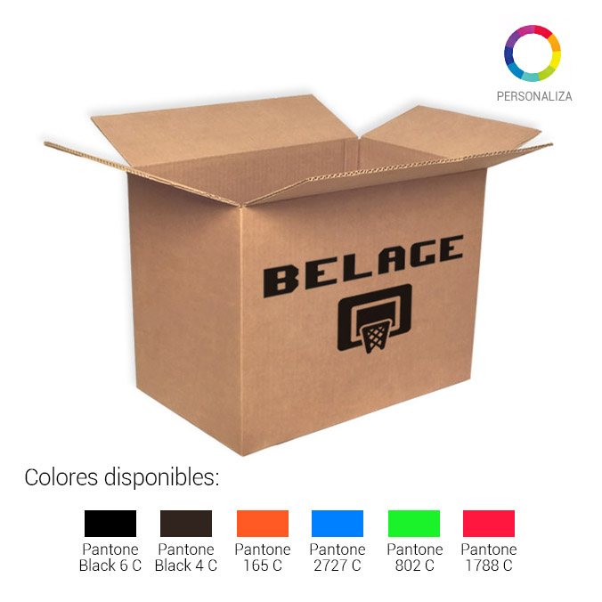 Caja de carton canal simple 425x275x325mm