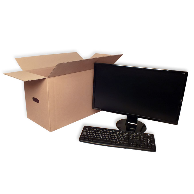 Caja de carton canal simple 630x300x350mm