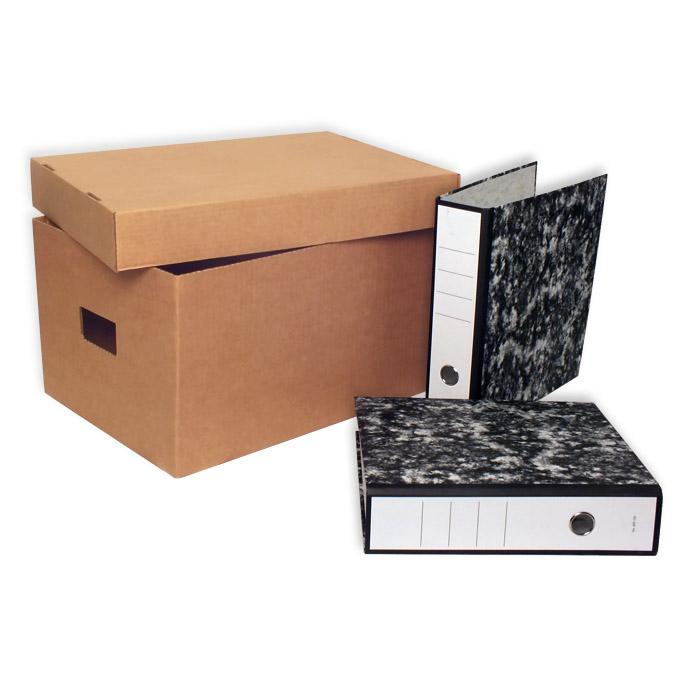 Caja de carton canal simple 460x340x260mm