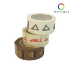 Cinta adhesiva personalizada pvc solvente 48x126