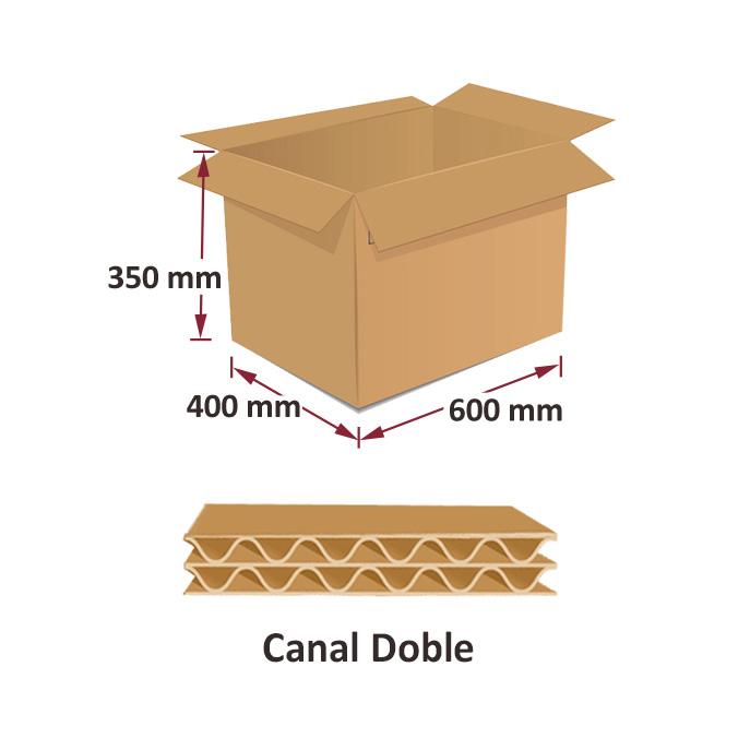 Caja de Embalaje 600x400x350mm