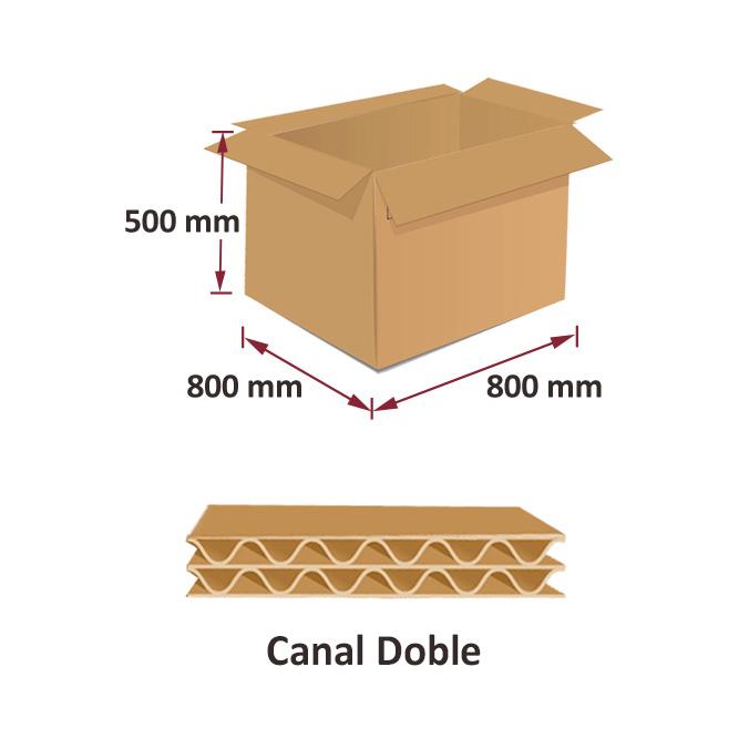 Cajas al por mayor canal simple 800x800x500mm