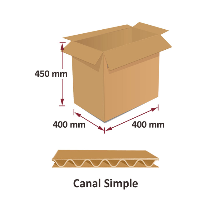 Cajas al por mayor canal simple 400x400x450mm