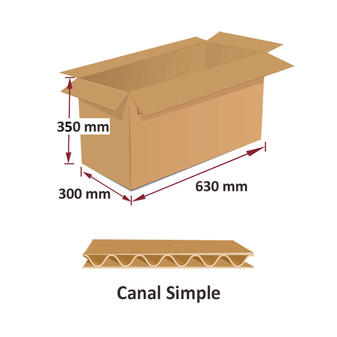 Cajas al por mayor canal simple 630x300x350mm