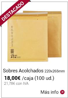 Sobres acolchados 220x265 Mod. 15/E