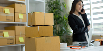 Cajas - Landing tienda online