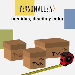 Personaliza medidas, diseño y color
