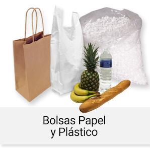 Bolsas Papel y Plástico