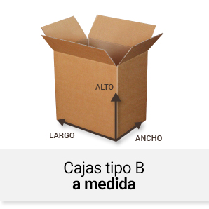 Cajas tipo B a medida