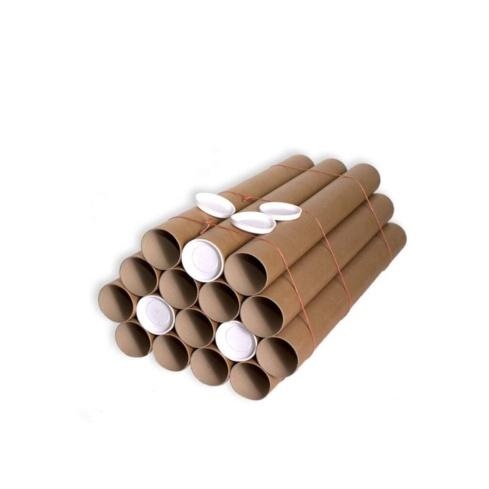Tubo cartón 76 x 700 mm. Marrón