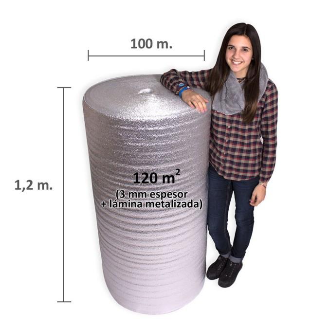 a7223203de3 Espuma Foam 3 mm.+ Film Metalizado - Espuma Foam