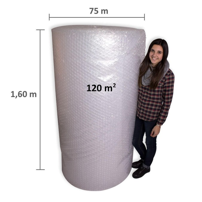Plastico burbujas grande 90m2