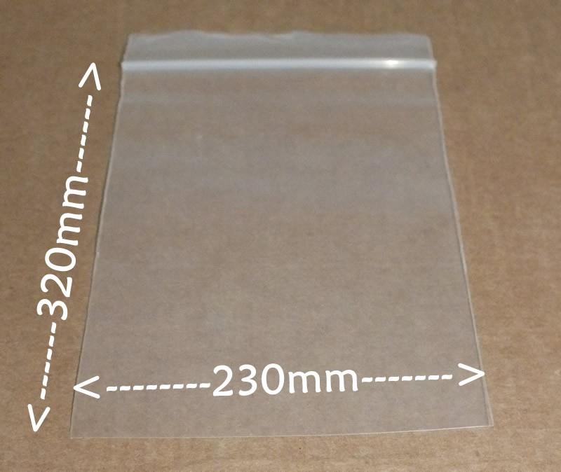 Bolsas hermeticas 230x320mm