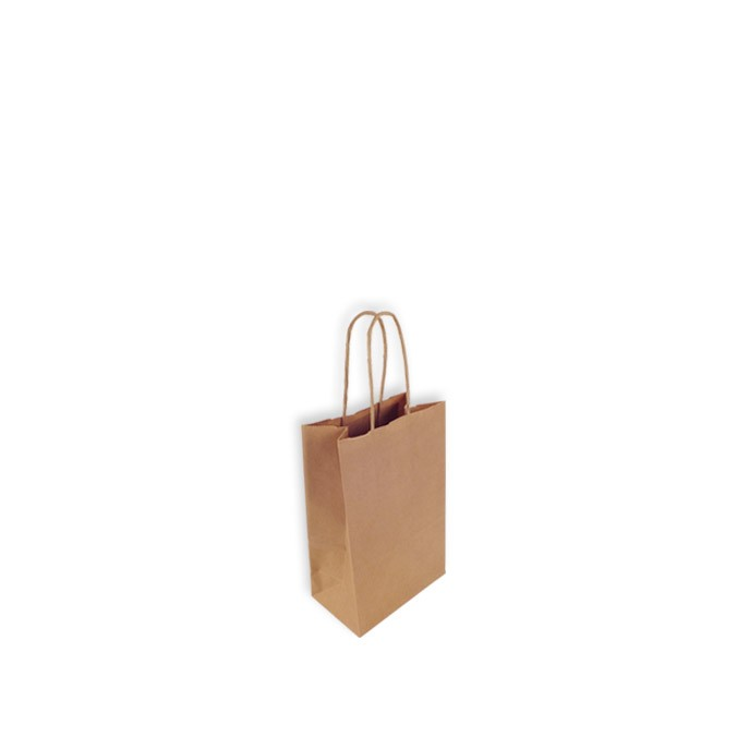80d10313f Bolsas de Papel Kraft 14+8,5x21,5 cm. Mini - Embalajes y Cajas para ...