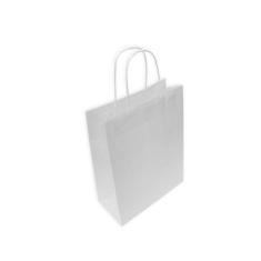 Bolsas de Papel Blancas 24+11x31 cm
