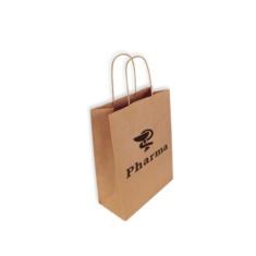 Bolsas de Papel Personalizadas 24+11x31cm