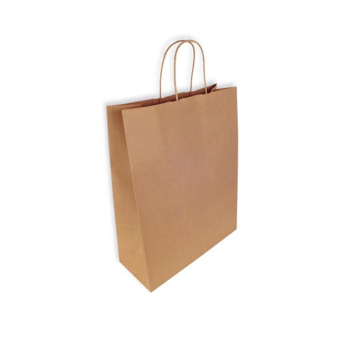 la mejor moda mitad de descuento oferta Bolsas Papel Kraft 32+13x41cm