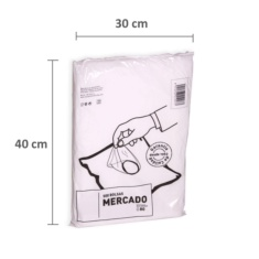 Bolsas de plástico 30 x 40 cm