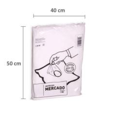 Bolsas de plástico 40 x 50 cm