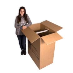 Cajas de cartón (Caja Armario) 750x450x1000mm
