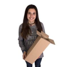 Cajas de cartón 140x140x415mm