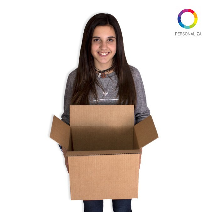 Caja de carton canal simple 300x200x260mm