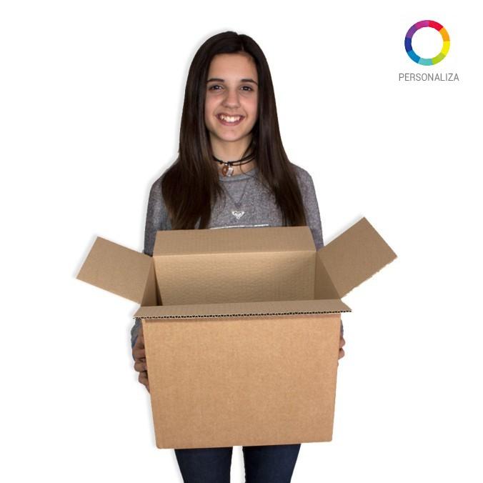 Caja de carton canal simple 310x220x270mm