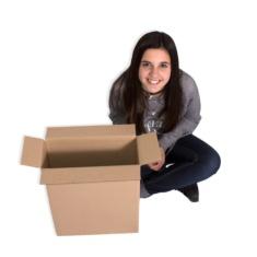 Cajas de cartón 340x140x415mm
