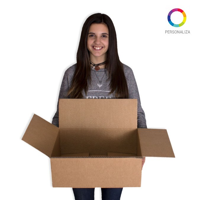 Caja de carton canal simple 400x300x150mm