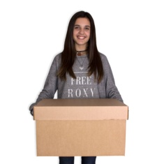 Cajas de cartón 460x340x260mm