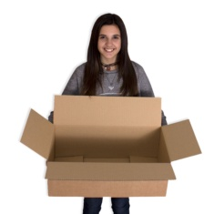 Cajas de cartón 550x300x200mm