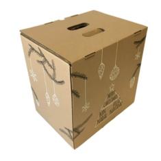 Caja de carton lote Navidad 9 botellas