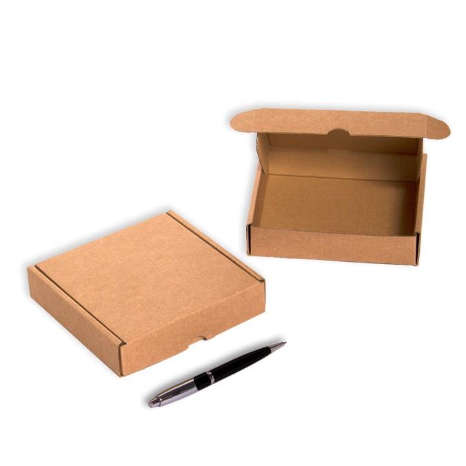 Caja de carton para envios 140x140x035mm