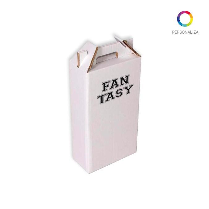 Caja para 2 Botellas Impresa