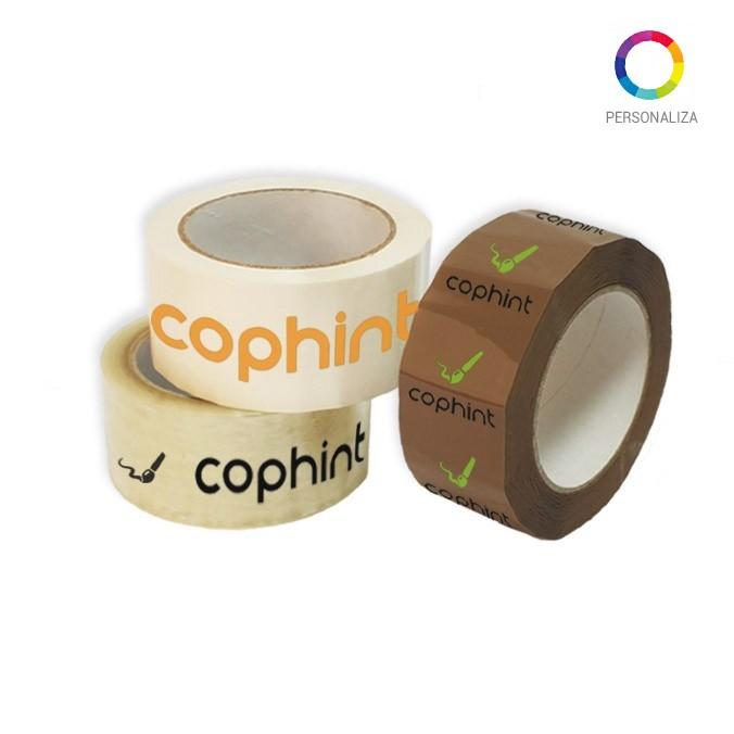 Cinta adhesiva personalizada polipropileno solvente 48x66