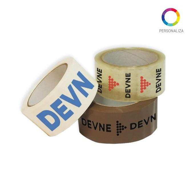 Cinta adhesiva personalizada pvc solvente 48x66