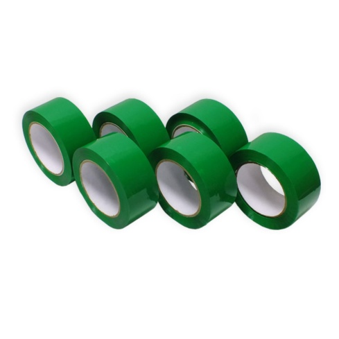 Cinta Adhesiva Verde de Polipropileno 121 m