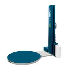 Enfardadora envolvedora Palets Robopac EcoPlat. Modelo Base con Plato Grande
