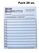 Cajas de carton para mudanza mini