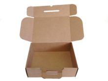 Caja de carton maletin para envios abierto 350x118x255mm