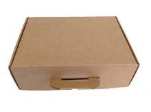 Caja de carton maletin para envios cerrado 350x118x255mm