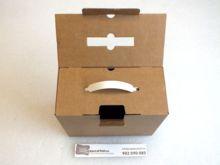 caja maletin para envio vista superior