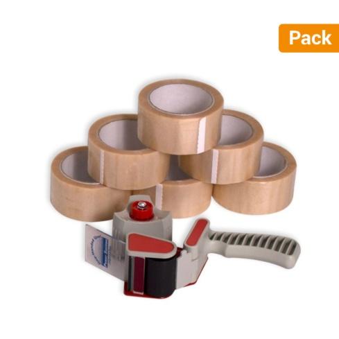 Pack cierra cajas PVC 66