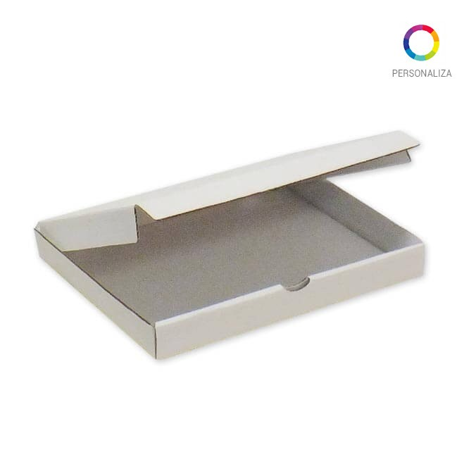 Caja para Pizza Impresa 245x195x030mm